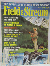 Field & Stream Magazine May 1969 Cougar Hunting Coon Hound Championships