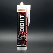 (13,43 €/L) 12 x Dicht-Fix, transparent, 310 ml - Fugendicht Dach-Dicht KIM-TEC