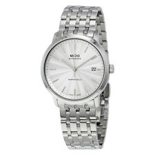 Mido Baroncelli Automatic Silver Dial Watch M3895.4.11.1
