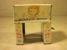 1950's Masudaya Modern Toys Tin Windup Little Miss House Keeper Automatic Ironer