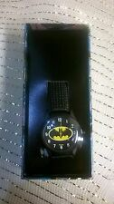 DC COMICS BATMAN ANALOG WATCH IN COMIC STRIP BOX