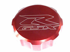 SUZUKI GSXR600 GSXR750 FRONT BRAKE MASTER CYLINDER SCREW TOP LID CAP RED B13I