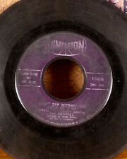 "The Cookies 7"" 45 Don't say nothin' bad about my baby dimension soul doo wop GD"