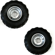"19x7-8"" & 18x9.5-8"" 2 Sets Front Rear Tyre Tire & Rim Dirt Bike ATV Dune Buggy"