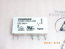 V23092-A1024-A301 Relais Relay Schrack 24V 6A 250VAC, SIL