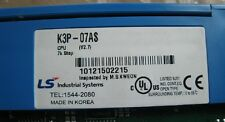 USED LS/LG CPU Module K3P-07AS K3P07AS tested