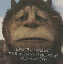Where the Wild Things Are by the Kids, Karen O (CD, Sep-2009, DGC)