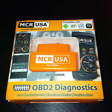 MCR Bluetooth Scanner OBD2 CANBUS PROTOCOL Diagnostic Scan Tool Launch Matco
