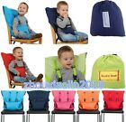 Safe travel Portable Baby High Chair belt Seat Infant Sack Sacking Kids New Seat