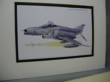 McDonald Douglas F 4B Phantom II Wild Weasel Model Airplane Box Top Art Color