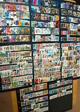 500 Different Great Britain Commemorative Stamps Collection 1953-2011 Many HVs