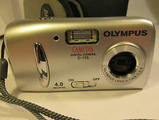 Olympus C-170 4.0 MP Digital Camera - Silver