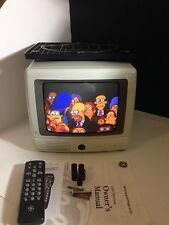 "-Cleaned+Tested- GE 09GP108 9"" CRT TV Spacemaker with Undermount General Electri"