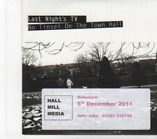 (EY640) Last Night's TV, No Tinsel On The Town Hall - 2011 DJ CD