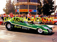 "Al Segrini 1982 ""Super Brut"" Dodge Omni NITRO Funny Car PHOTO!"