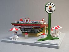 MTH RAIL KING TIPPY'S TOCOS FAST FOOD RESTAURANT STAND o gauge building 30-90085