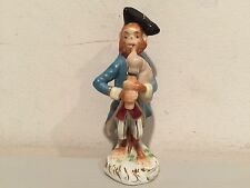 Vintage Volkstedt Porcelain Monkey Band Figurine Playing Bagpipes VERY RARE!