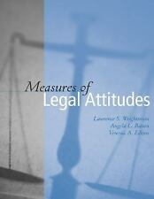 Measures of Legal Attitudes by Wrightsman, Lawrence S., Batson, Angela L., Edki