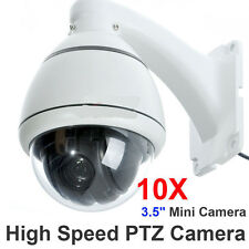 10x Zoom 1/3'' SONY CCD 700TVL High Speed PTZ Dome CCTV MiNi Security Camera SYS