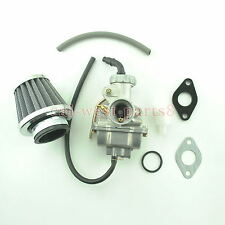 Carburetor With Air Filter Fuel Filter Fits Honda XR80 XR80R 80 1985-2003 New