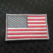 U.S. AMERICAN Retro FLAG USA ARMY 3D EMBROIDERY MORALE BADGE HOOK VELCRO PATCH