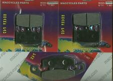 Kawasaki Disc Brake Pads ZR1100 1992-1996,1999 & 2002-2006 Front & Rear (3 sets)