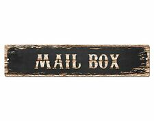 SP0490 MAIL BOX Street Sign Bar Store Cafe Office Restaurant Chic Decor Gift