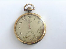 Montre Gousset Chronomètre Aleph  Pocket Watch