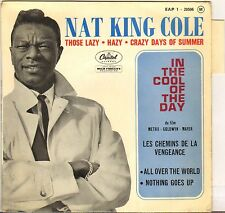 "NAT KING COLE ""IN THE COOL OF THE DAY"" POP VOCAL JAZZ 60'S EP CAPITOL 1-20506"