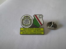 a1 LEGIA WARSZAWA - SPORTING LOKEREN cup uefa europa league 2015 football pins