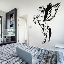 Pegasus Removable Wall Sticker Vinyl Bedroom Home Decor Animal Horse Mural Decal