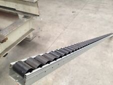 Gravity conveyor roller track 40mm high x 56mm wide x 2310 WILL FREIGHT at cost