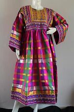 Afghan Kuchi Nomad Banjara TraditionTribal Boho Handmade New Brand Unique Dress