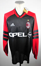 1998-99 AC Mailand Trikot Training Gr. XL Adidas Jersey OPEL Milan ACM Issue