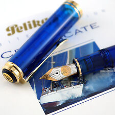 Pelikan Limited Edition Blue Ocean Fountain Pen - (M) #4256/5000