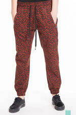 MAISON SCOTCH Size M Womens Cheetah Pattern Cuffed Trousers - From POPPRI