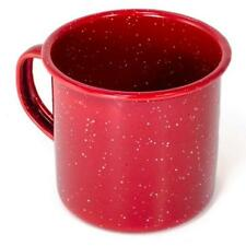 GSI Outdoor Red Enamelware 12oz Coffee Beverage Cup Mug Camping Hunting Fishing