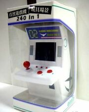 8.5 x 9 x 15 cm WHITE Game Machine 240 in 1 Arcade Mini Miniature Game machine