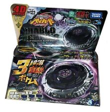 Beyblade 4d Diablo Nemesis Bb122 Metal Fusion Fight Masters Launcher Rare Takara