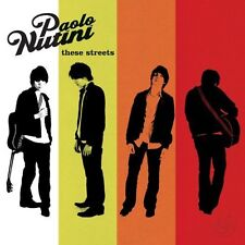 PAOLO NUTINI THESE STREETS CD NEW