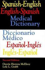 Spanish-English  English-Spanish Medical Dictionary/Diccionario Medico-ExLibrary