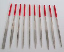 10pc Diamond File Set - 3 x 140 x 70mm Ceramics Tile Glass US FAST FREE SHIPPER