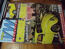 µ?a Super VW Mag n°199 La revue du Combi Cox Karmann Coccinelle avec poster