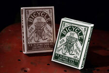 Bicycle Autobike Red & Green Playing cards Deck brand new sealed