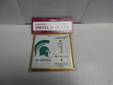Michigan State Spartans Light Switch Plate. MSU turns me on, Michigan off  MC50