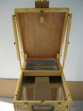 Plein Air High Quality Artist  French Box  Easel  Full Size  Brand New