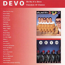 DEVO Oh No It's Devo/Freedom Of Choice CD BRAND NEW Bonus Tracks