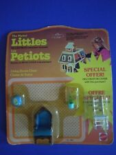 VINTAGE 1980 MATTEL THE LITTLES LIVING ROOM CHAIR BONUS PACK +SPECIAL OFFER GIFT