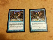 MTG Accumulated Knowledge x2 - Nemesis - Magic The Gathering Cards Lot