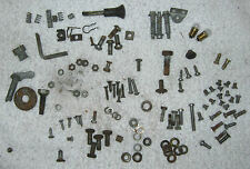 Morris Minor Miscellaneous Hardware Lot Screws Nuts Brackets 1960 (?) Used Orig